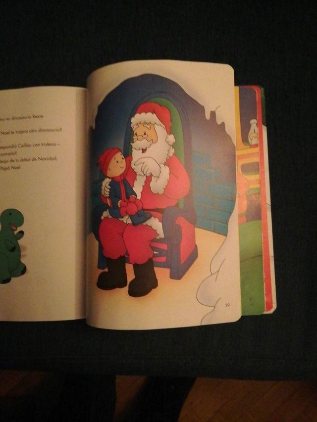 Libro Caillou ¡Felices Fiestas!