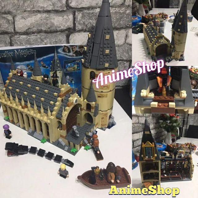 GRAN COMEDOR HOGWARTS COMPATIBLE LEGO HARRY POTTER