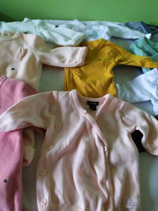 Lote de ropa recien nacida