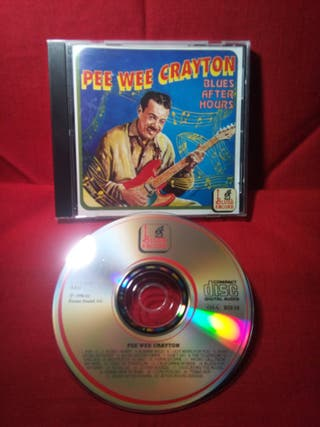 PEE WEE CRAYTON:BLUES AFTER HOUR.No se encuentra.