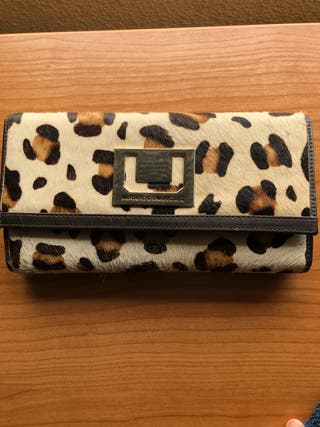 Cartera de leopardo