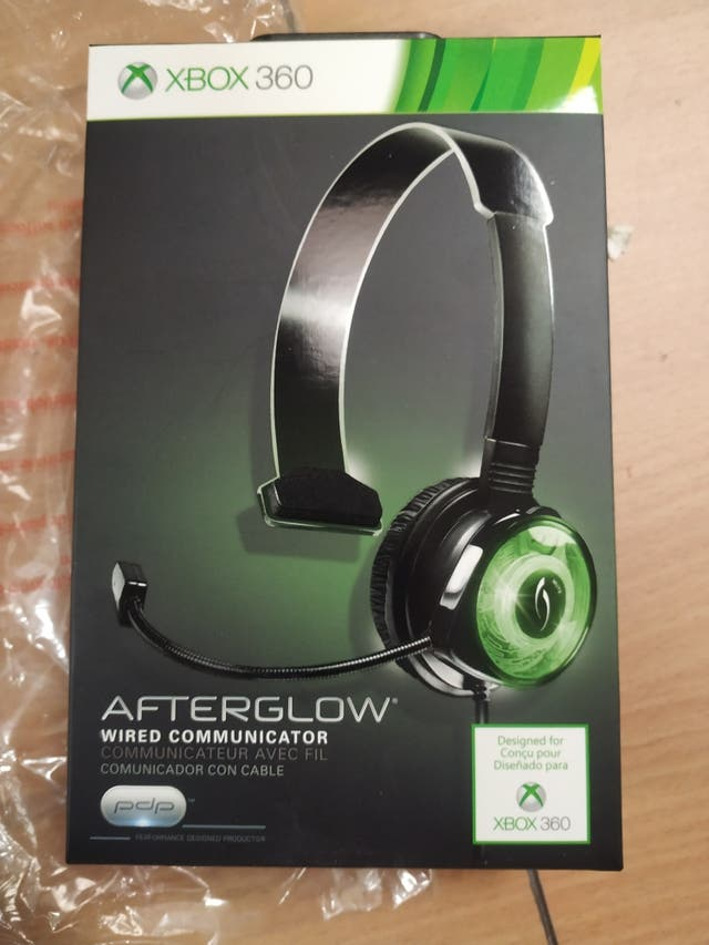 xbox 360 afterglow auriculares