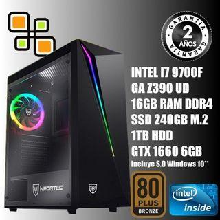 PC Gaming I7 9700F // GTX 1660 6gb // 16GB RAM