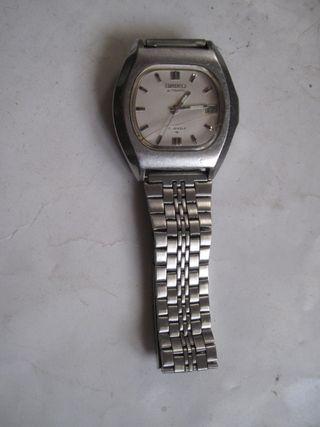 reloj Seiko 7025-5010 correa metálica Vintage