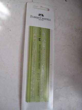 plantilla Faber-Castell 3.5 mm ISO Tekagraph verde
