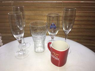 Regalo vasos copas y taza Nescafe