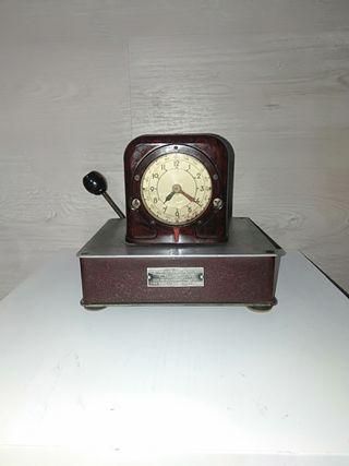 reloj para fichar para coleccionistas