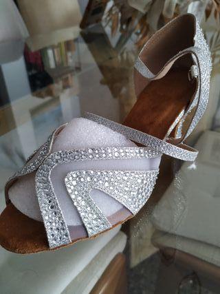 Zapato baile latino