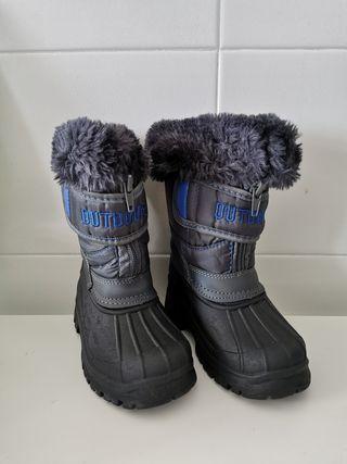 Botas de nieve impermeables