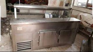 se vende espositor frigorífico de acero inoxidable