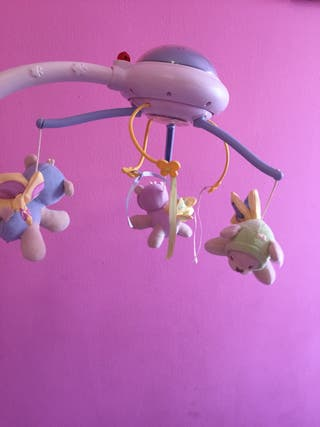 Mobile de juguete para camita de bebe