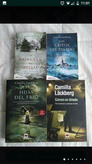 Lote Libros Novelas Camilla Läckberg
