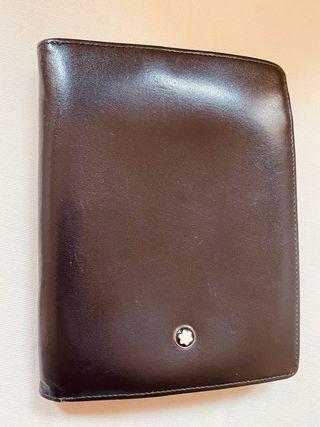 MONTBLANC, cartera, billetera. 13 compartimentos.