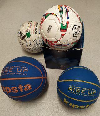 Balones deportes distintos.