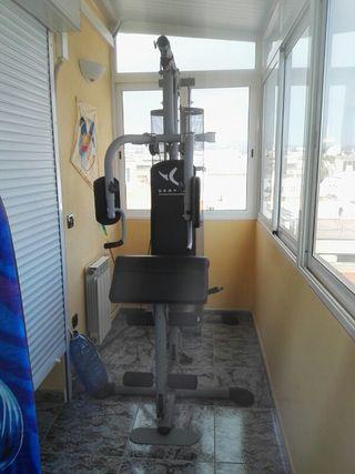 maquina completa de pesas
