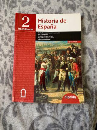 Libro historia de españa 2 bachiller.
