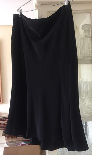 Falda negra El Corte Inglés nueva con etiquetas