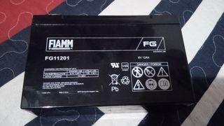 Bateria Nueva alta capacidad 6v 12Ah