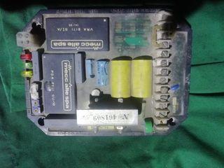 tarjeta de regulación grupo electrógeno.