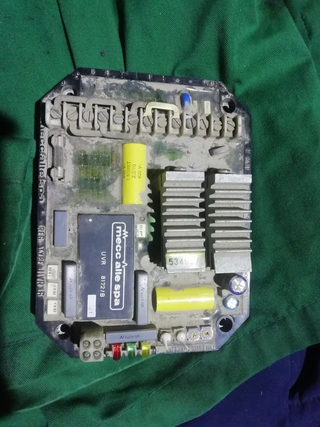 avr regulador alternador generador