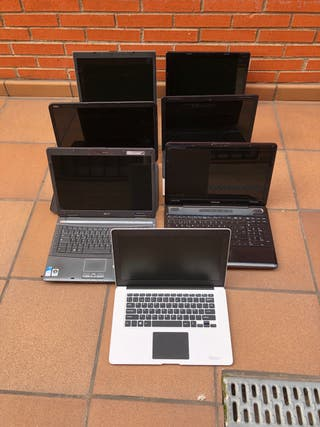 Lote ordenadores portátil