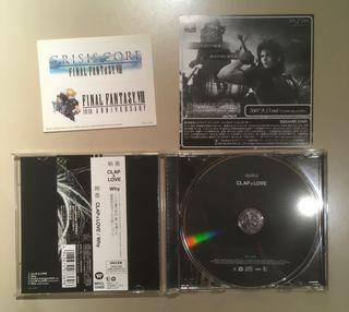 Single Limitado de Final Fantasy VII Crisis Core