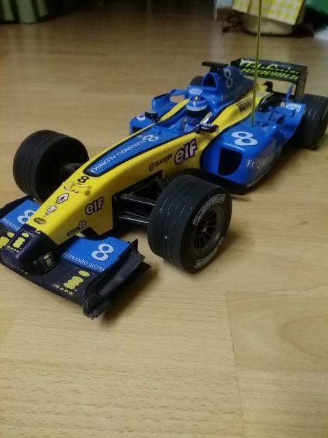 coche formula 1 teledirigido Fernando Alonso