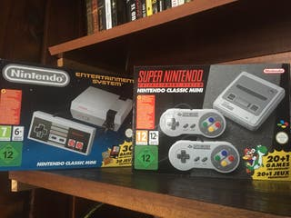 Pack Nintendo mini NES y SNES