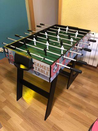 Mesa multijuegos futbolin / ping pong / hockey