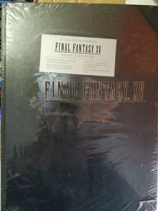 final fantasy XV guia edicion coleccionista