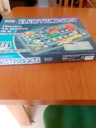 juego de electrónica sin usar