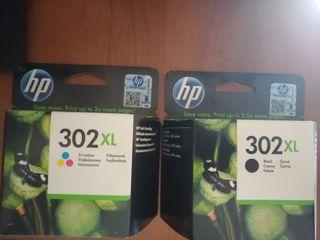 Cartuchos de tinta HP 302 XL