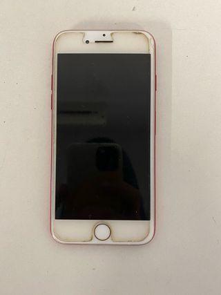 iPhone 7 rojo 128gb