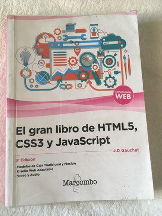 El gran libro sobe HTMLS, CS3 y JavaScript