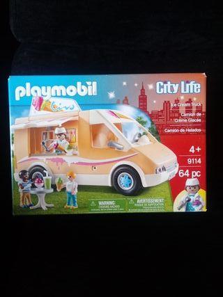 camion Playmobil 9114 helados a estrenar