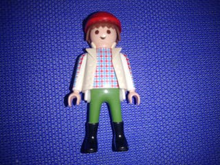 playmobil figura camion conductor