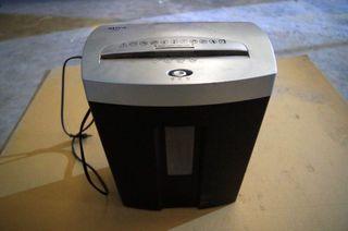 Trituradora de papel eléctrica