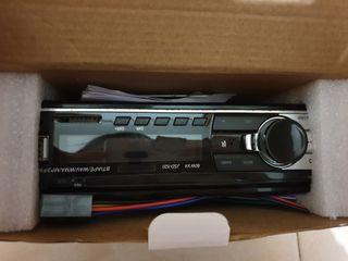 Radio con USB y Bluetooth para coche