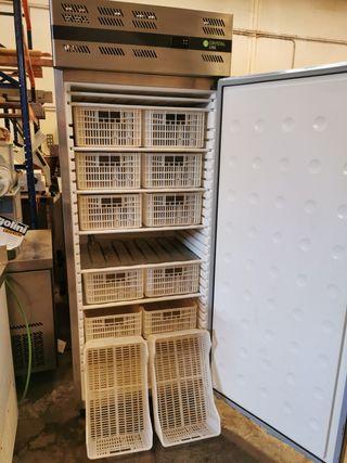 congelador vertical cajones hostelería bar
