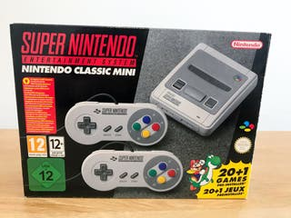 Mini Super nintendo classic mini SNES nueva