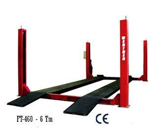 Elevador de cuatro columnas electro-hidráulico