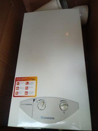 calentador gas natural