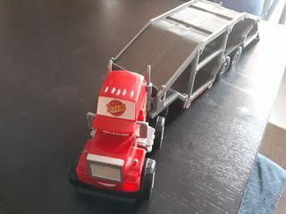 car, camión de transporte