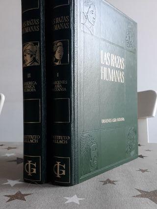 Libros Las razas humanas tomo 1 y 2
