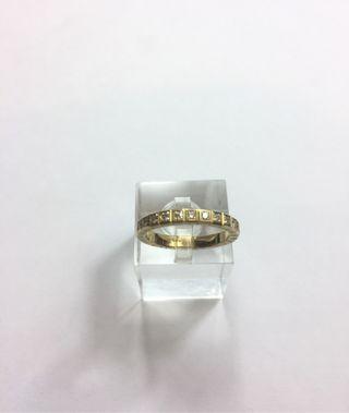 Alianza de Chopard oro 18 kilates y diamantes