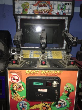 Maquina recreativa arcade beast busters