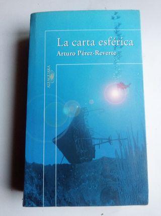 la carta esférica. Arturo Pérez Reverte