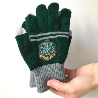 Nuevos guantes Harry Potter Slytherin Hogwarts