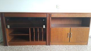 Mueble madera para SALÓN y COMEDOR casi nuevo