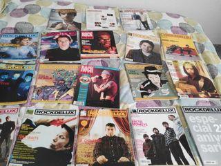 lote de 18 revistas Rock de Lux desde 1995